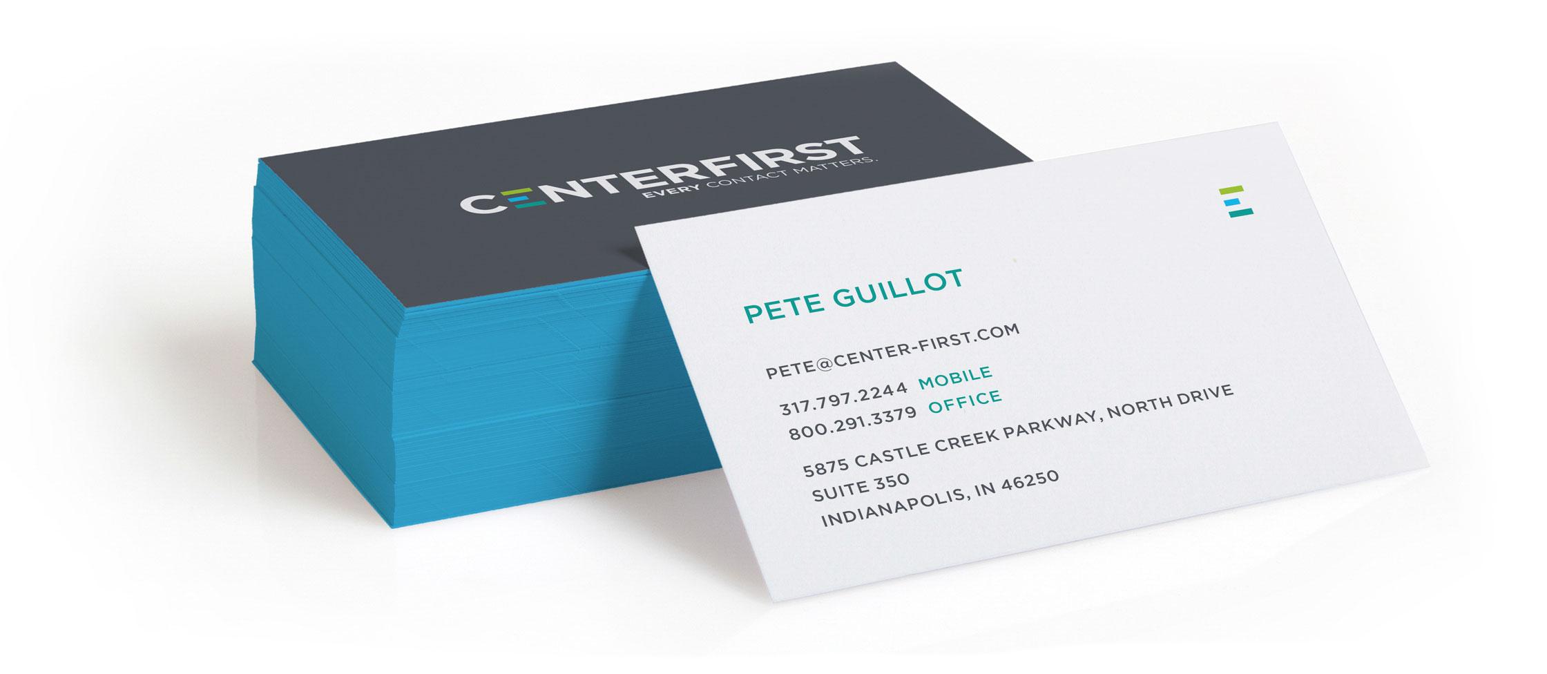 CenterFirst Business Card