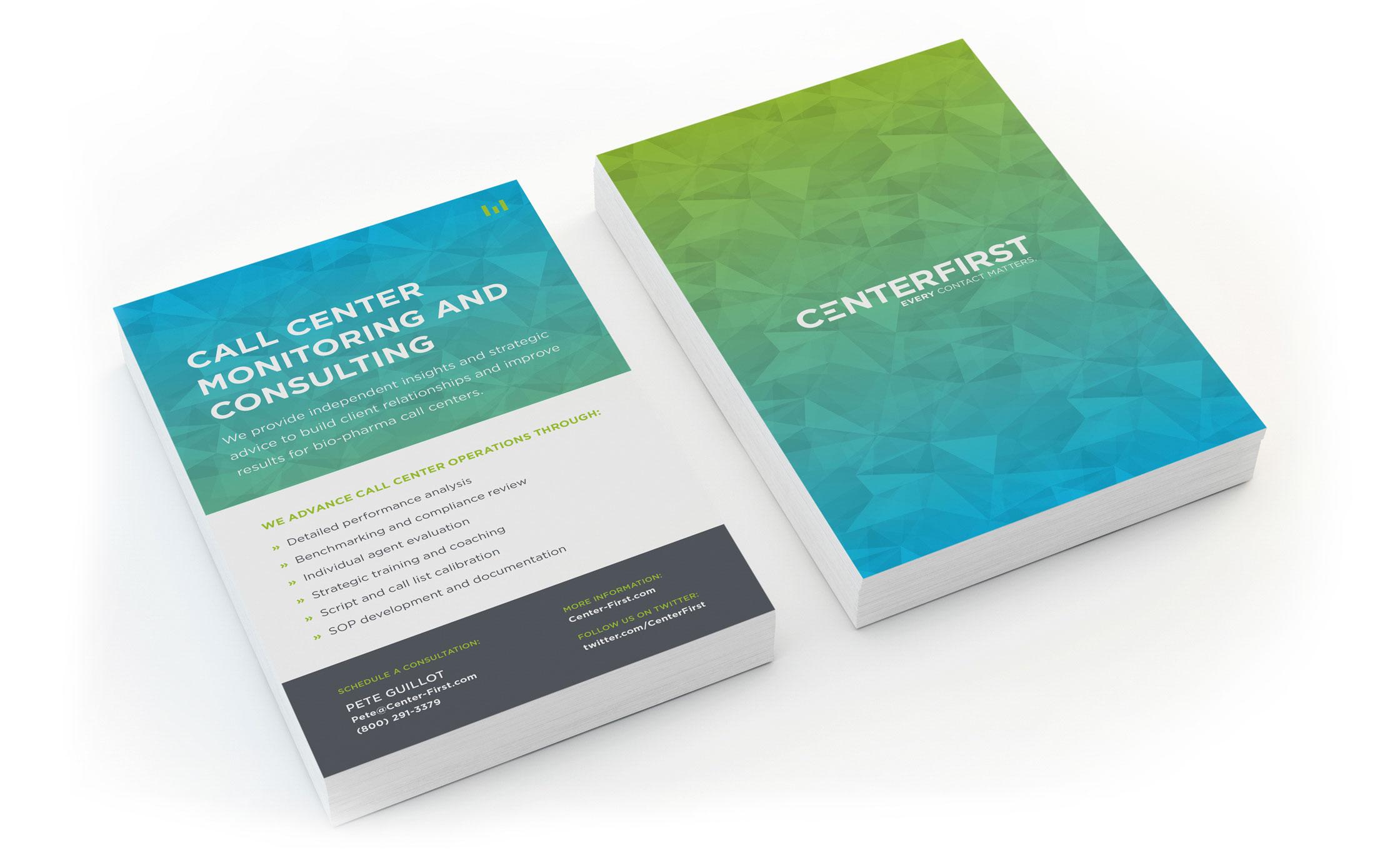 CenterFirst Info Card